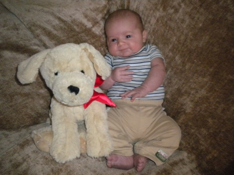 Wyatt 1 month 009