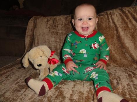 Wyatt nine months 001
