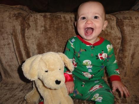 Wyatt nine months 010