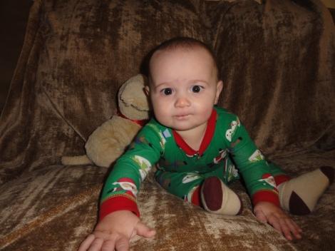 Wyatt nine months 017