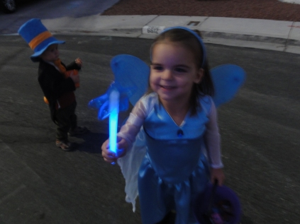 Kylie was thrilled her want actually glowed!